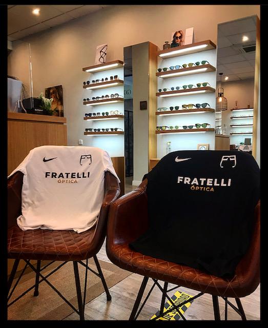 Camiseta Oficial Fratelli Óptica